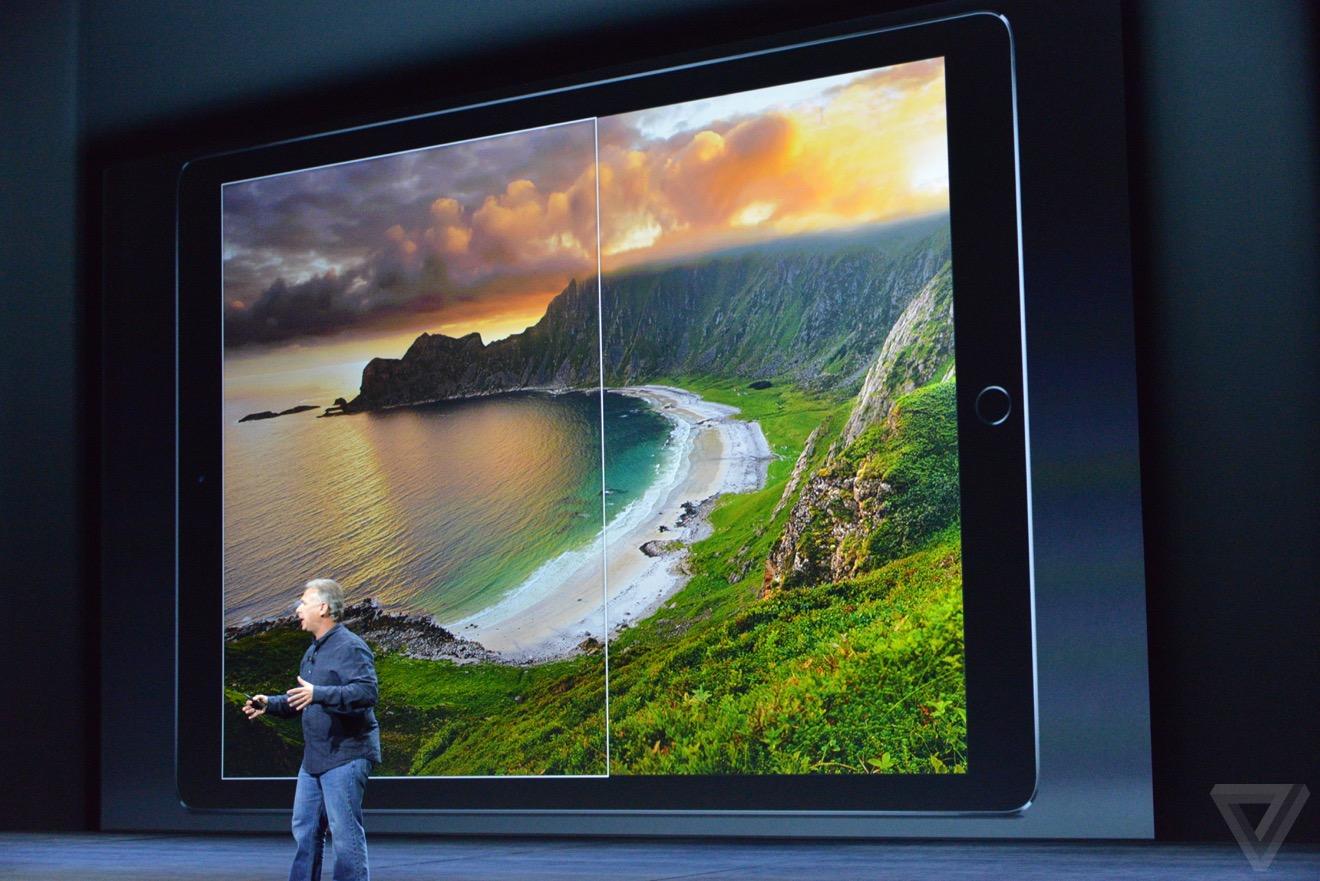 ipad pro Bilan keynote : iPhone 6s, Apple TV 4, iPad Pro, watchOS 2