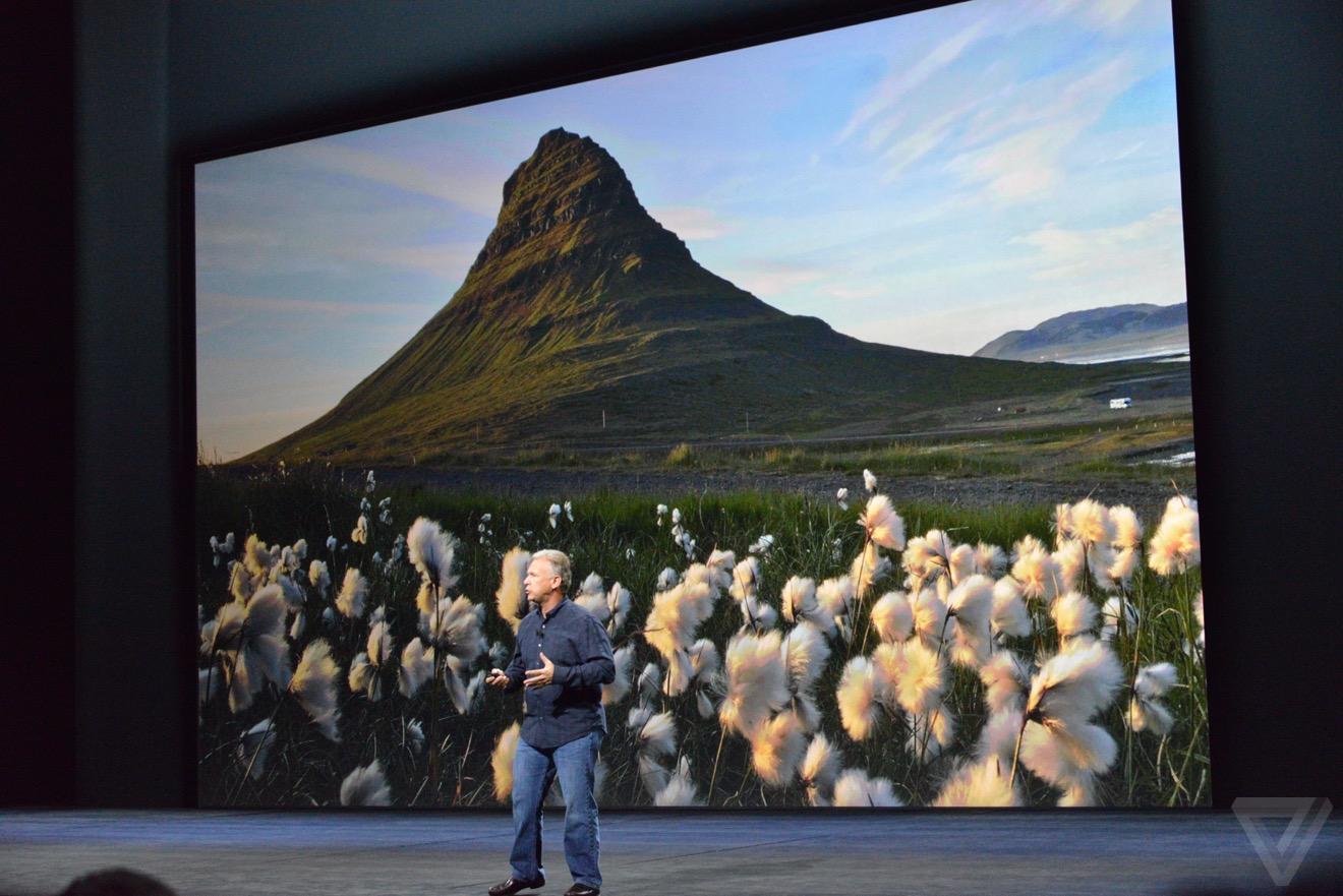 iphone 6s camera Bilan keynote : iPhone 6s, Apple TV 4, iPad Pro, watchOS 2