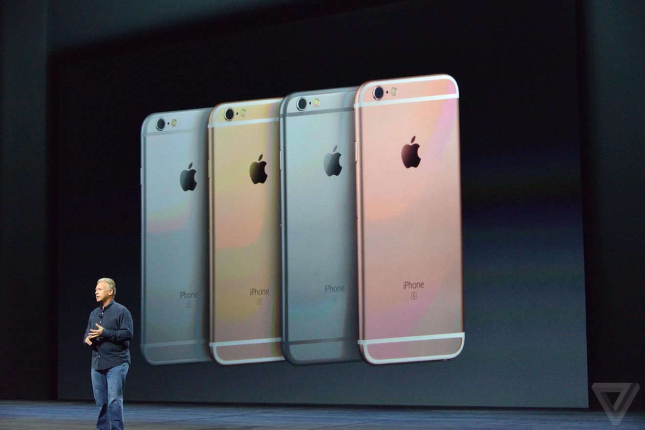 iphone 6s rose Bilan keynote : iPhone 6s, Apple TV 4, iPad Pro, watchOS 2