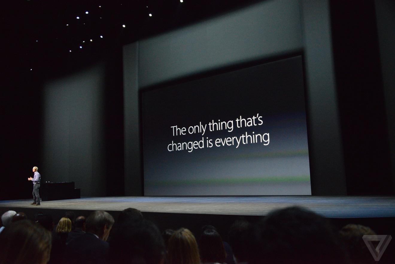 iphone 6s tout change Bilan keynote : iPhone 6s, Apple TV 4, iPad Pro, watchOS 2