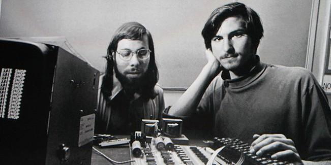 jobs et wozniak e1442216569567 Steve Jobs aurait lui même quitté Apple selon Steve Wozniak
