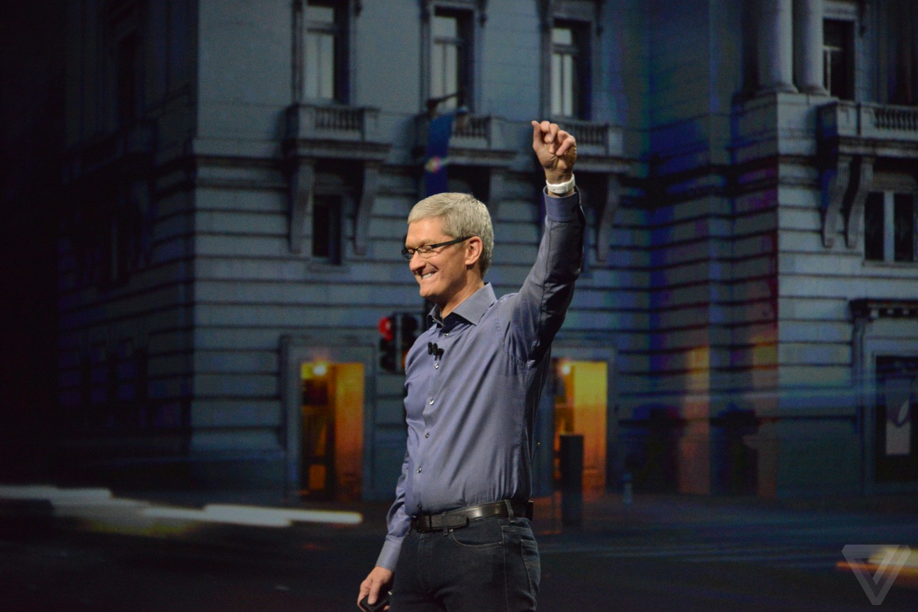 keynote 2015 tim cook Bilan keynote : iPhone 6s, Apple TV 4, iPad Pro, watchOS 2