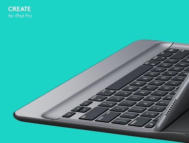 logitech create cover e1441873891920 Logitech annonce son propre clavier iPad Pro