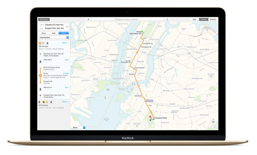 mac os x el capitan plans Mac OS X El Capitan est enfin disponible, récapitulatif des nouveautés !