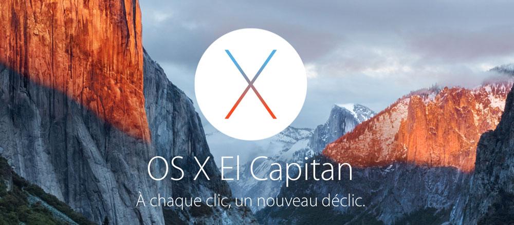 mac os x el capitan Mac OS X El Capitan est enfin disponible, récapitulatif des nouveautés !