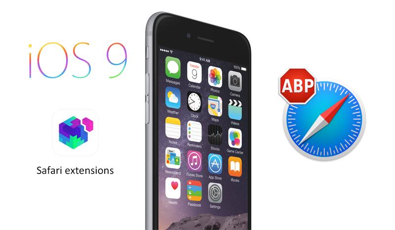 safari mobile extensions ios 9 adblock Les bloqueurs de publicité débarquent sur iPhone & iPad !