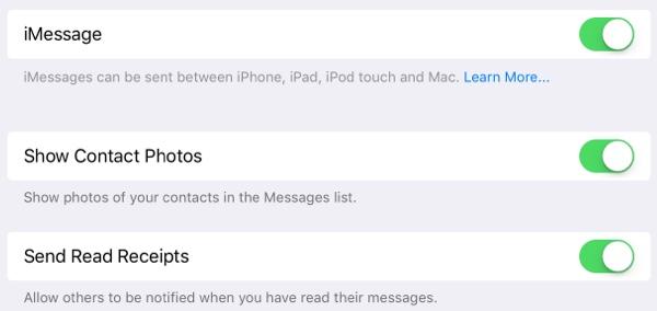 showcontactsoption Une nouvelle bêta disponible pour iOS 9.1 et tvOS