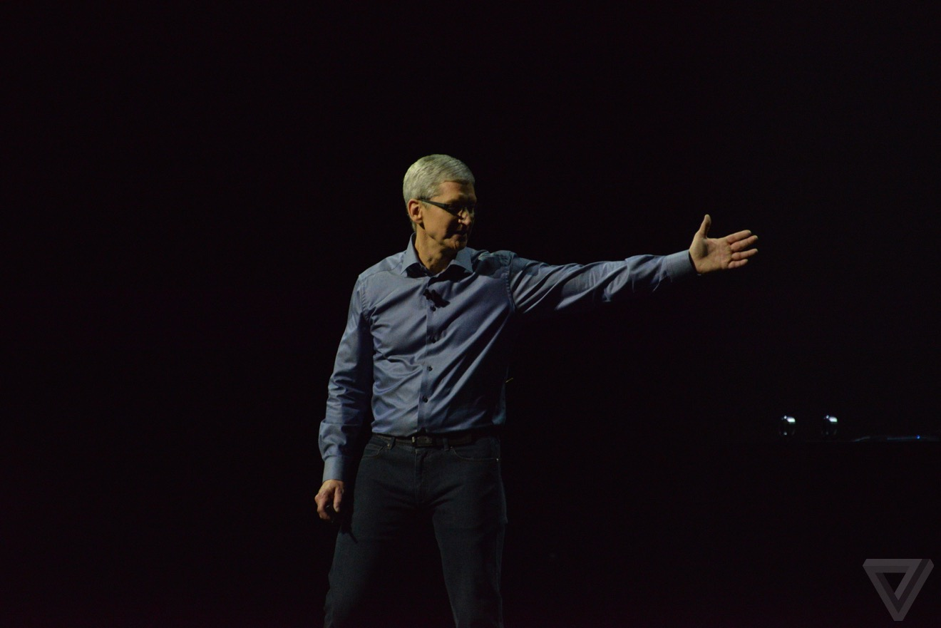 tim cook keynote Bilan keynote : iPhone 6s, Apple TV 4, iPad Pro, watchOS 2