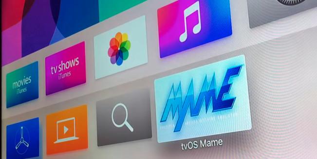 tvos mame e1443519796835 Apple TV 4 : un premier émulateur se dévoile en vidéo