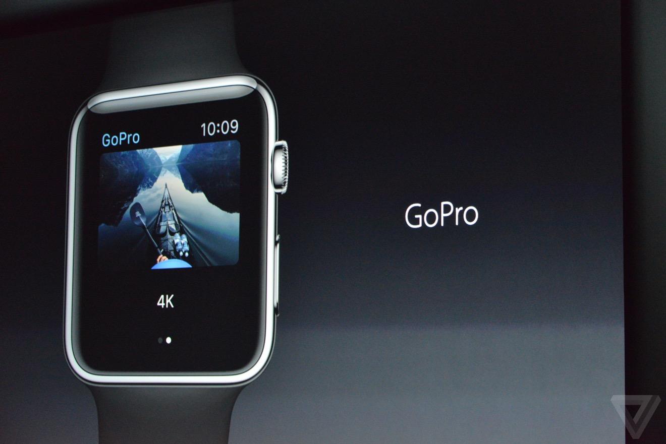 watchOS 2 gopro Bilan keynote : iPhone 6s, Apple TV 4, iPad Pro, watchOS 2