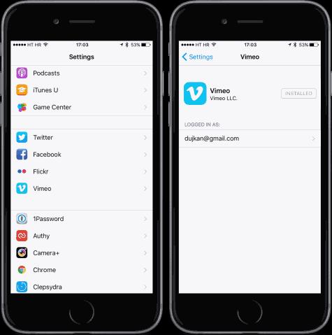 20151012175039 Vimeo désormais optimisé pour iOS 9