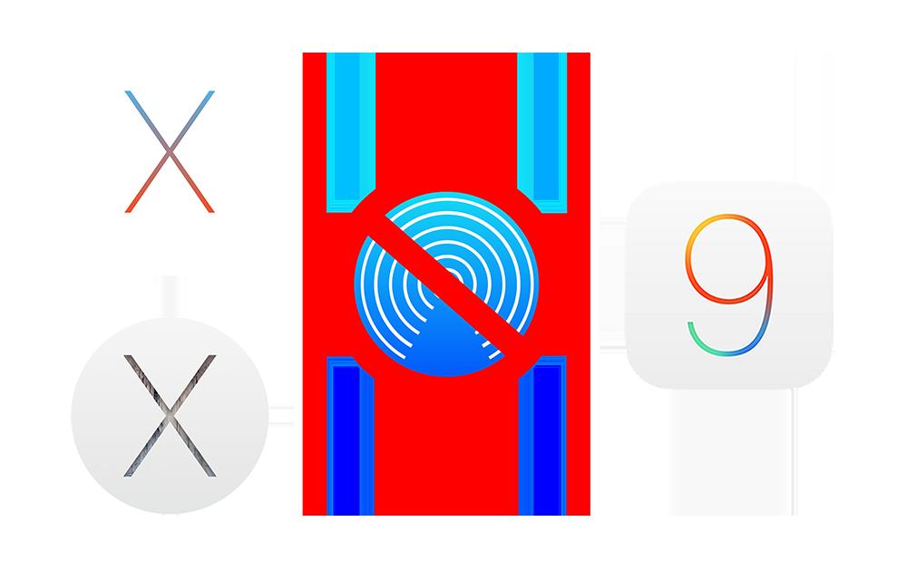 Airdrop Airdrop ne fonctionnerait plus entre Mac et iPhone/iPad sous iOS 9