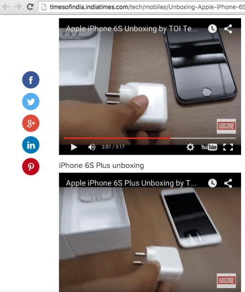 Chargers 10W iPhone 6s Charger Gate : des iPhone 6s vendus avec différents types de chargeur