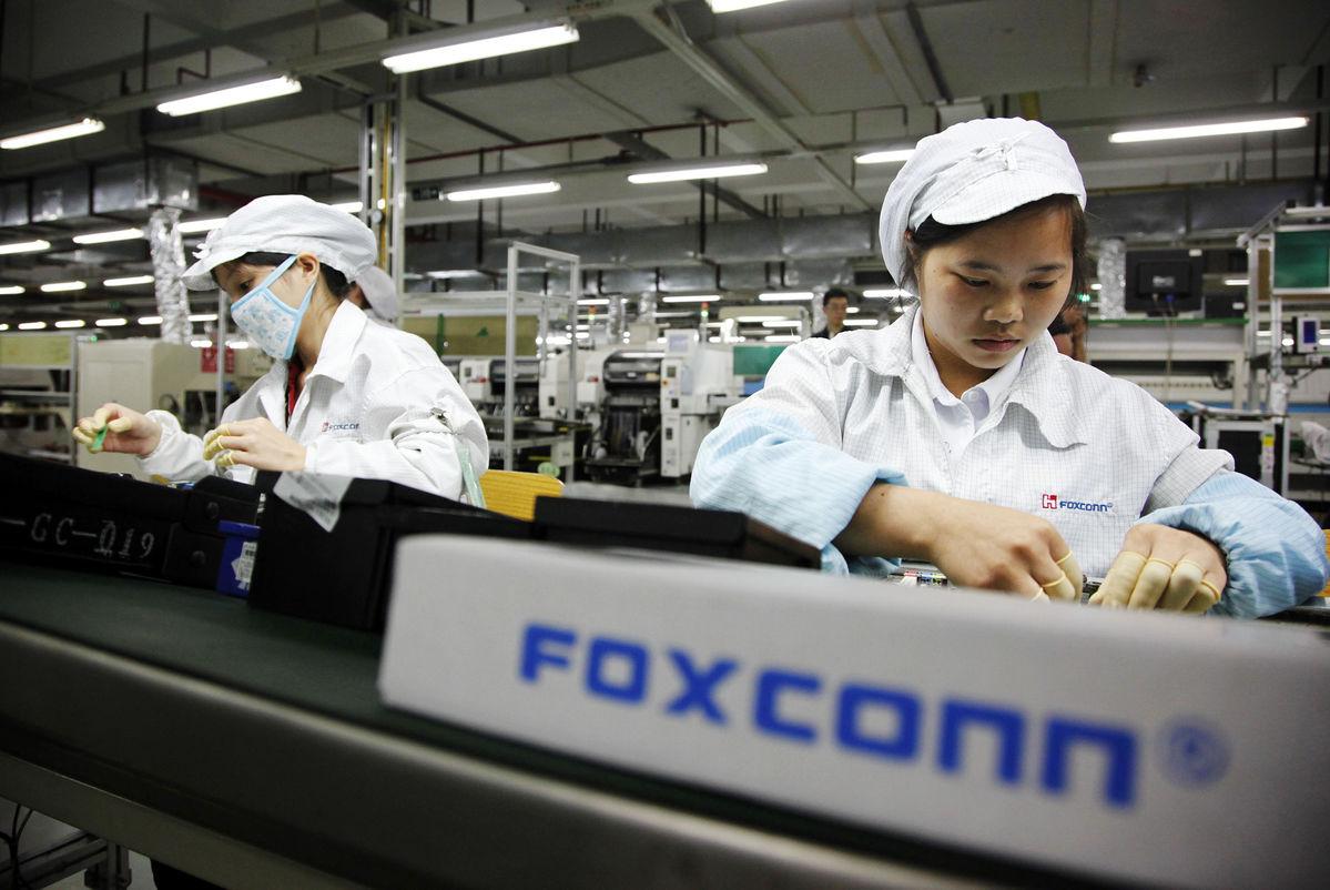 Foxconn incasari record Le chiffre daffaires de Foxconn tape haut en septembre grâce à Apple