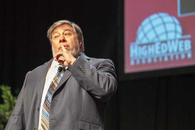 Steve Wozniak at HigherEdWeb 780x520 Steve Jobs aurait envisagé le retour de Woz à Apple en 2011