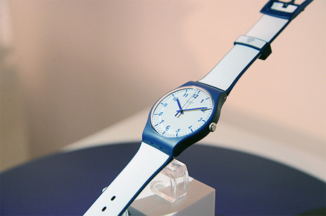 Swatch Bellamy Swatch double Apple en Chine sur le marché des paiements par montre