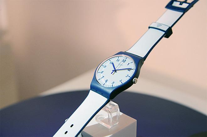Swatch Bellamy Swatch double Apple en Chine sur le marché des paiements par montre