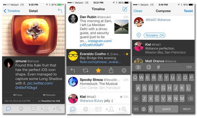 Tweetbot 4 Tweetbot 4 est disponible et voit lavenir en 3D Touch !