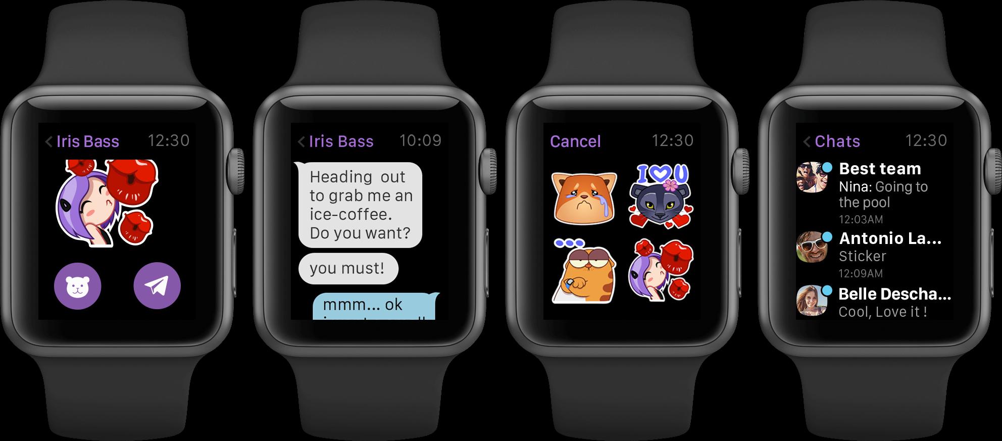 Viber for Apple Watch Viber officialise son compagnon sur lApple Watch