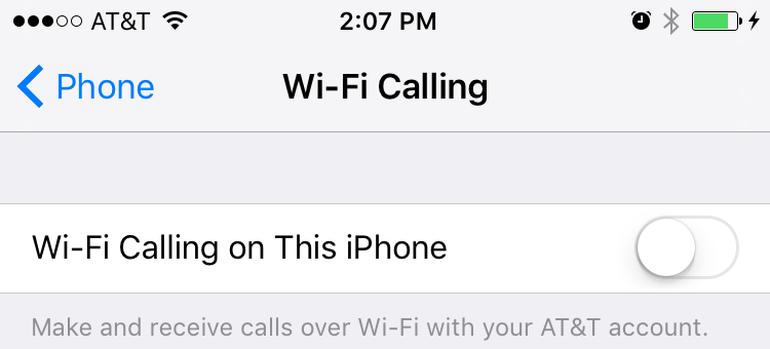 Wifi calling La fonction iOS Wi Fi Calling ferait anormalement chauffer liPhone