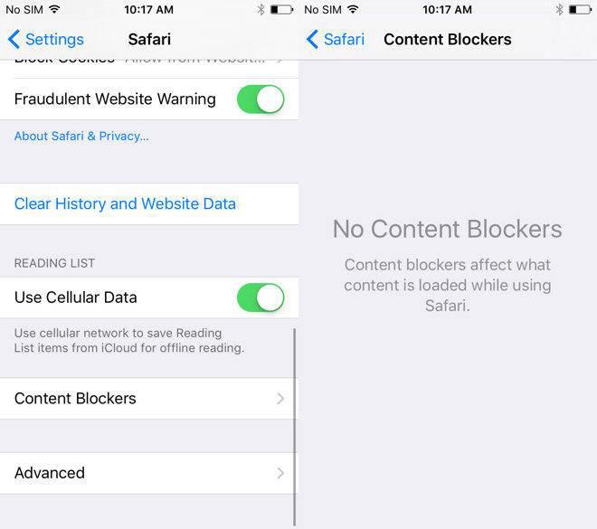 ad bloqueurs1 Apple retire des bloqueurs de contenu de lApp Store pour raison de sécurité