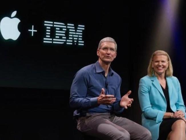 apple ibm e1444985660393 IBM avoue que les Mac sont plus rentables que les PC