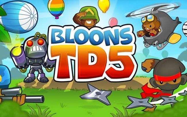 bloons td 5 astuce tours Top 5 des jeux de la semaine