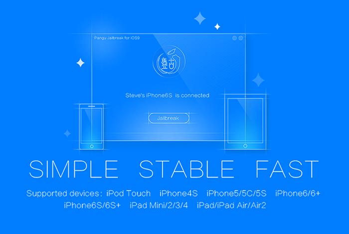 devices jailbreak ios9 [EXCLU] PanGu Mac OS X V1.0.0 Jailbreak pour iOS 9.0   9.0.2