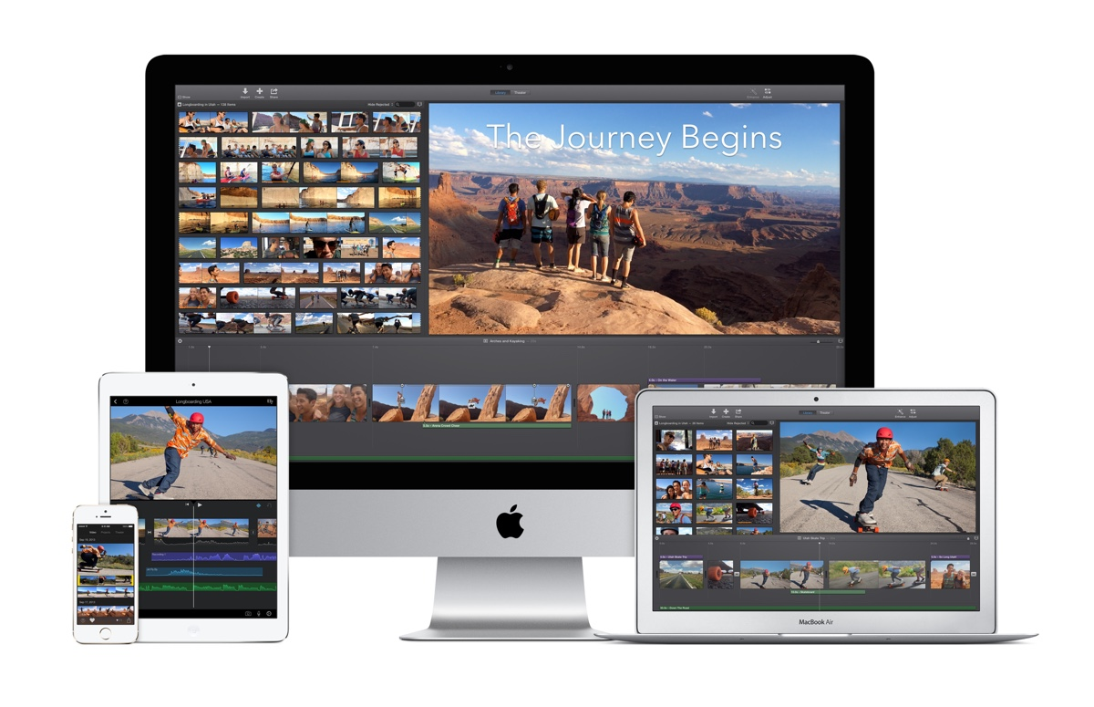 iMovie 4K family iMovie supporte désormais la 4K !