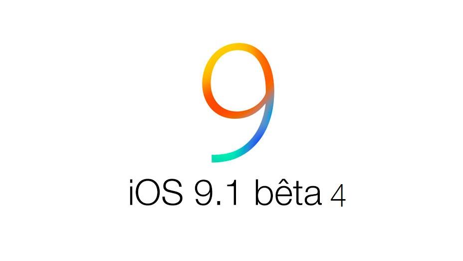 iOS 9 1 beta 3 iOS 9.1 bêta 4 disponible pour les développeurs et le grand public