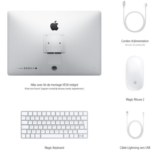 imac 21.5 4K LiMac 21 pouces Retina 4K est officiel !