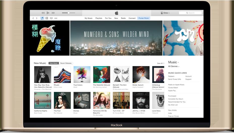 itunes12 WatchOS 2.0.1 et iTunes 12.3.1 sont eux aussi de sortie