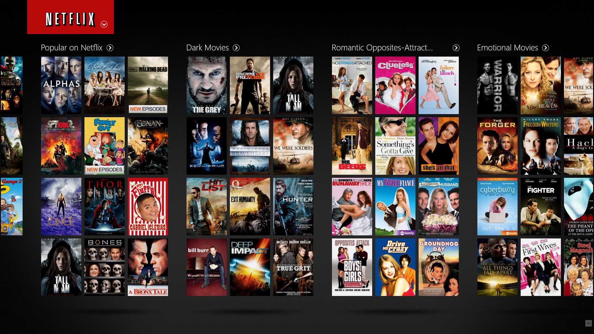 netflix for Apple TV [DOSSIER] 5 Applications pour bien démarrer sur lApple TV 4 !