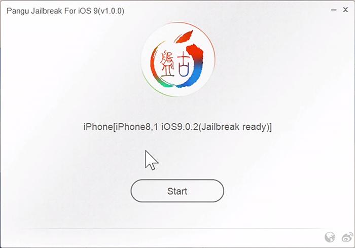 start pangu [TUTORIEL] jailbreak iOS 9 avec PanGu (Windows / Mac)