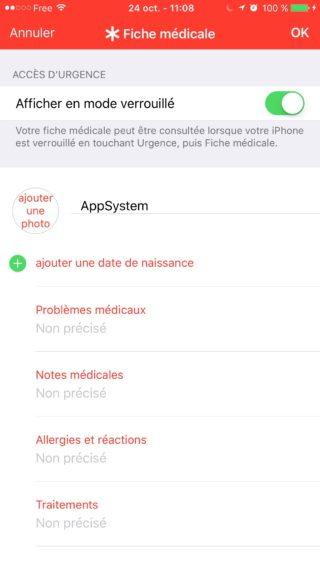 tuto fiche medicale 3 320x569 [TUTO] Créer une fiche d'urgence personnalisée pour les secours en cas daccident