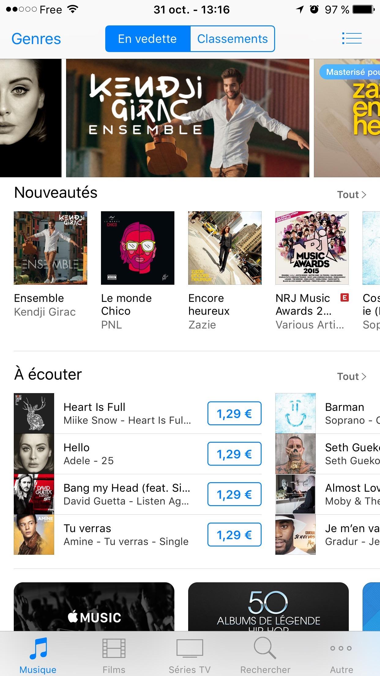 tuto itunes store ouvert [TUTO] Retrouver les musiques shazamées avec Siri