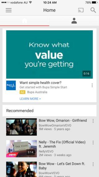 youtubeoriginal1 320x569 Les nouveautés Cydia de la semaine !