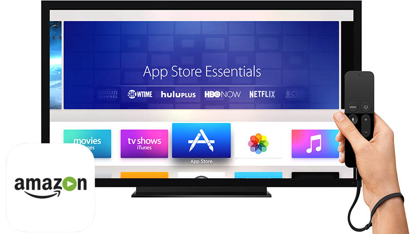 Apple TV Amazon Prime Video Lapplication vidéo dAmazon pour tvOS bientôt disponible ?