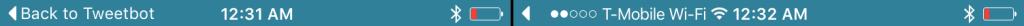 BreadcrumbArrow 1024x908 Cydia : BreadCrumbArrow cache le texte du lien de retour à lapplication précédente