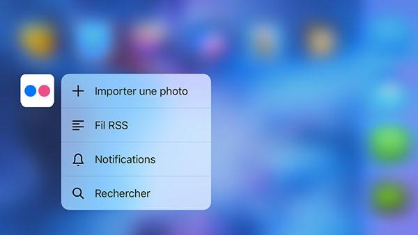 Flickr 4.0.6 pour iOS 9 Flickr 4.0.6 : 3D Touch et compatibilité iOS 9