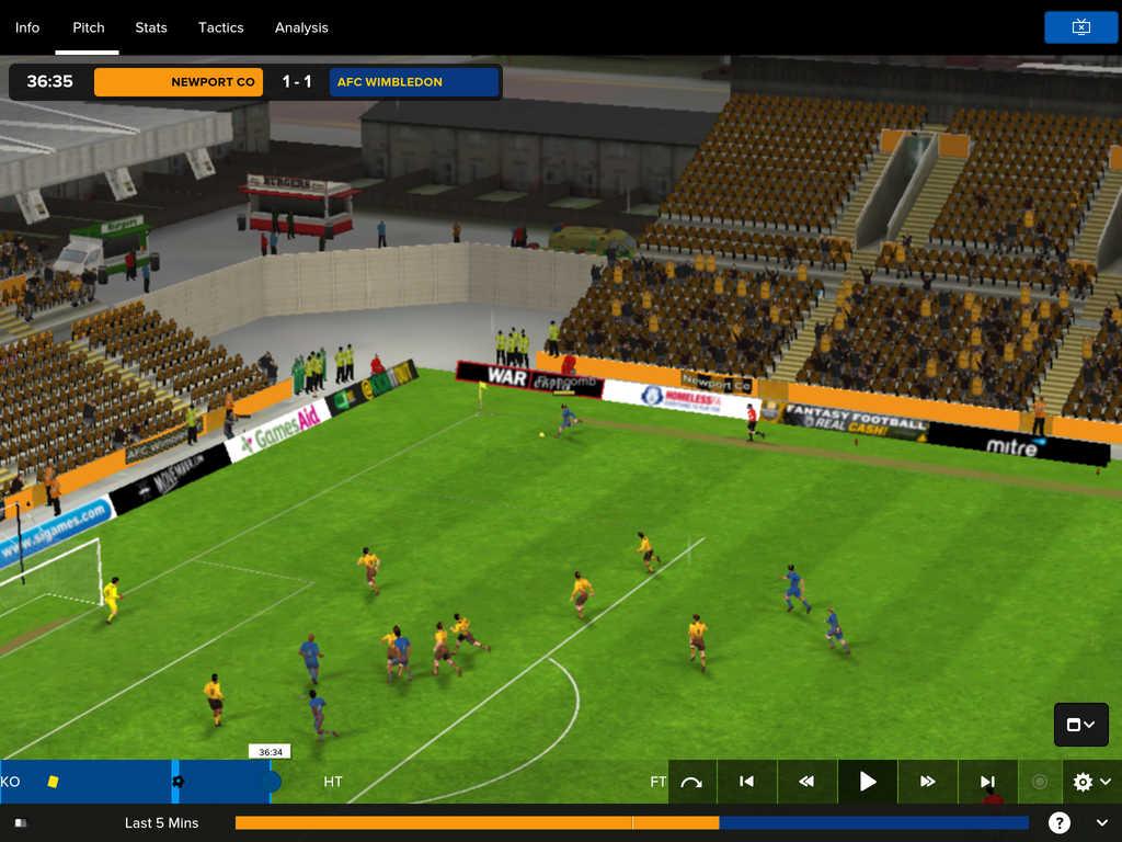 Football Manager Touch 1 Football Manager Touch 2016 débarque sur iPad !