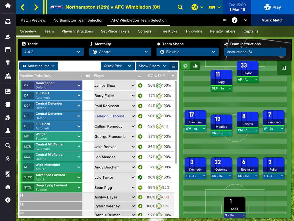 Football Manager Touch 2 Football Manager Touch 2016 débarque sur iPad !