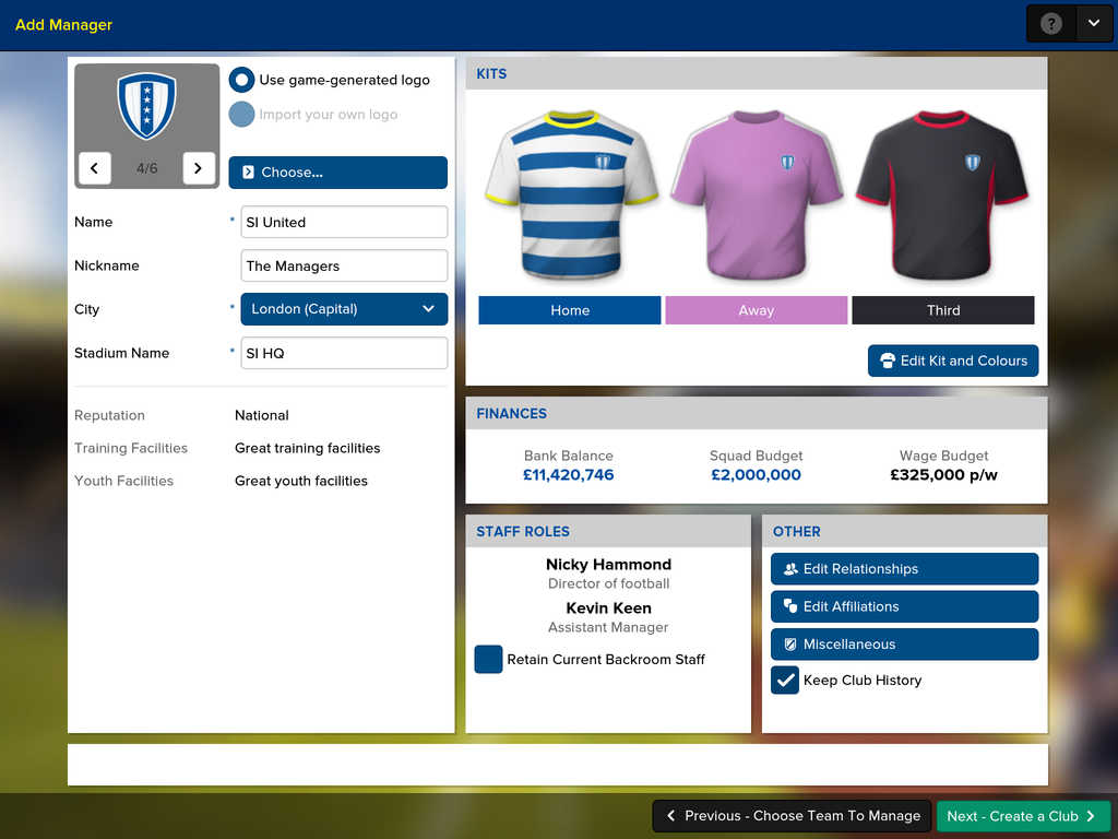 Football Manager Touch 3 Football Manager Touch 2016 débarque sur iPad !
