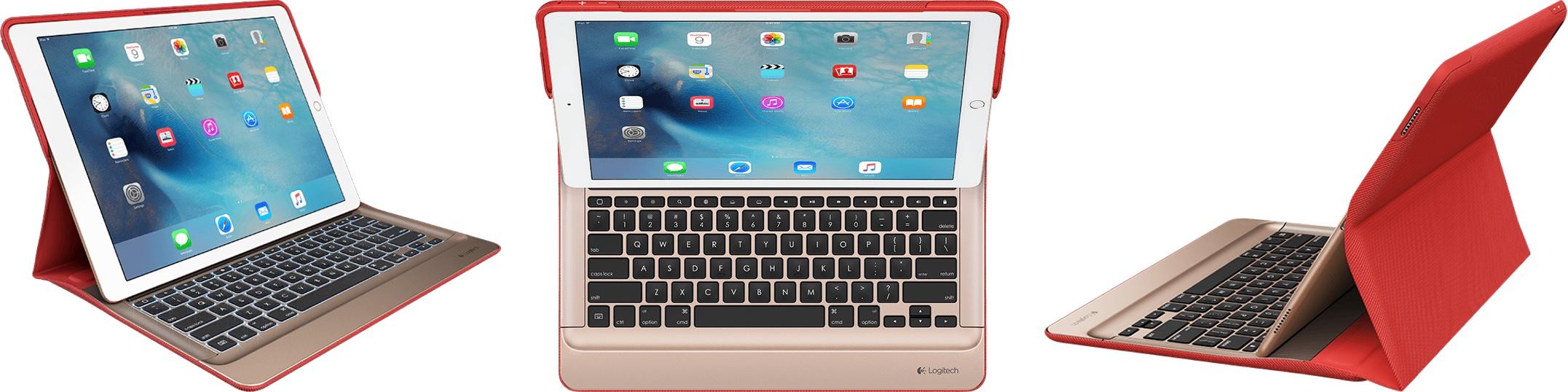 Logitech Create Backlit iPad Pro : premier accessoire de chez Logitech