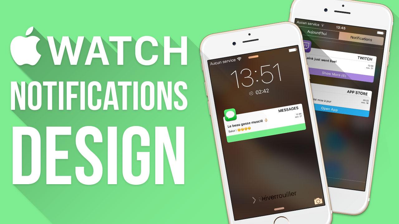 Miniature2 Vidéo : les notifications de lApple Watch sur iPhone ou iPad
