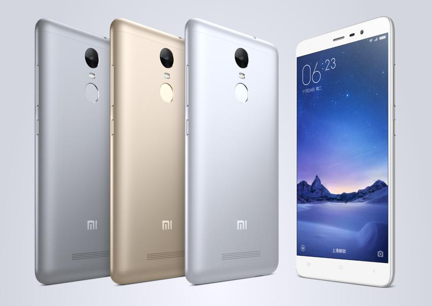 RedMi Note 3 Xiaomi annonce ses nouveaux MiPhone et MiPad