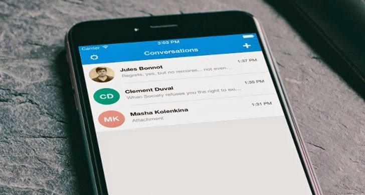 Signal encrypted ios message calling L'app gratuite du dimanche 08 novembre 2015