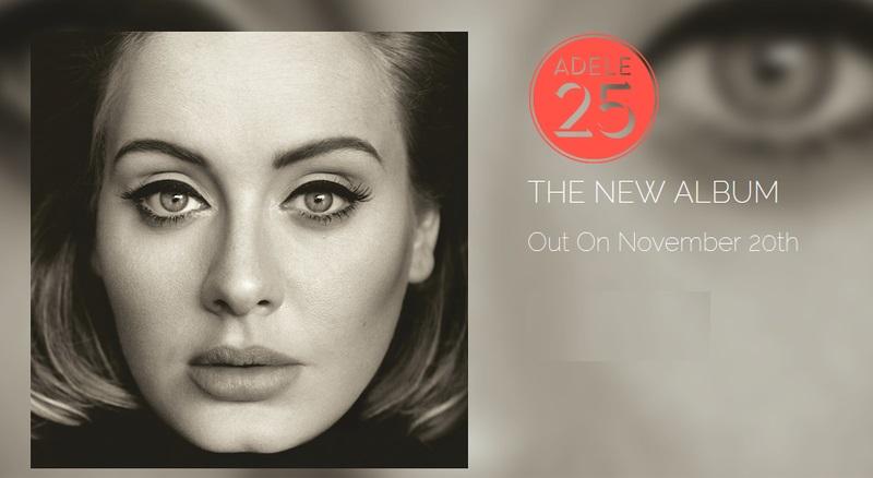 adele 25 pochette Adèle : « 25 » disponible sur iTunes mais pas sur Apple Music