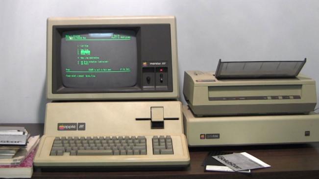 apple III plus e1447153397823 Vidéo : un légendaire Apple III Plus en vente sur eBay !