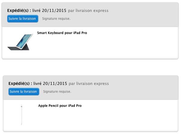 apple pencil smart keyboard expedies Apple lance les expéditions de lApple Pencil et du Smart Keyboard !